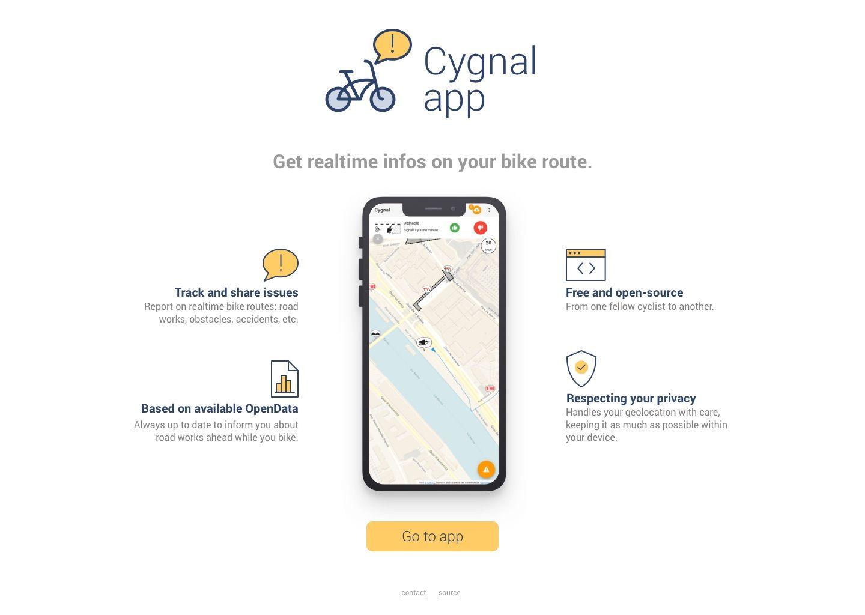 cygnal home page